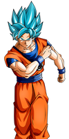 Goku Ssj Blue- Universe Survival by Koku78