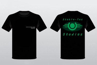 Stable-Tec Studios - T-shirt Design by jerry411
