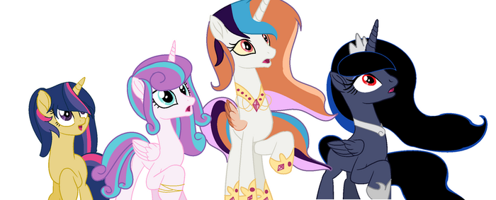The Royal Family Mlp base by MoonlightMovieYT