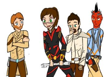 Young swtor characters by pvtjcaboose