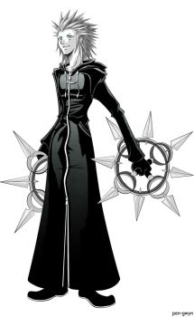 Black and White Axel by pen-gwyn