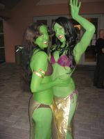 Orion Slave Girls by megmurrderher