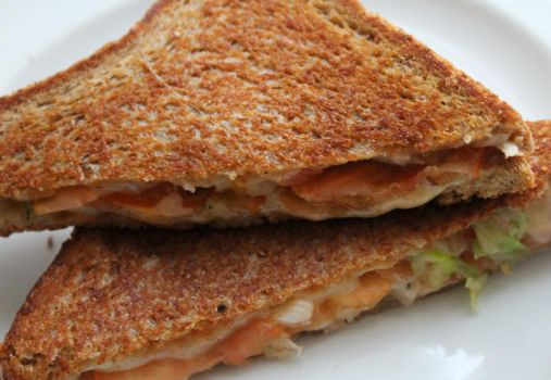 grilled cheese sandwich by starpersona
