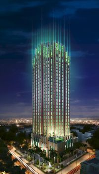 Emerald Tower visualization by paranoidx