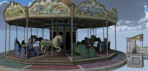 Carousel Calesite by Realmgal