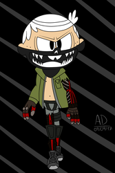 Lincoln Loud Cosplay Bryan Fury (Color) by Anton-Dis