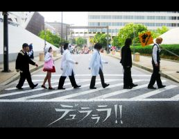 Durarara Crossing by TheDeviantArchitect