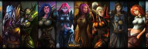 The World of Warcraft by Serathus