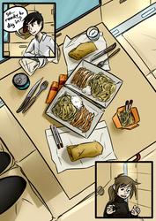 Station Engineer - Dinner for Two - pg. 9 by Sareth1337