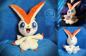 Victini custom plush