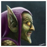 Green Goblin by AndyFairhurst