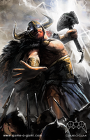 Legends At War - Thor by gameogami
