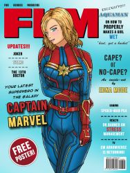 Captain Marvel by MillyArt93