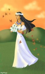 Pocahontas the bride by AgiVega
