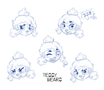 Expressions of a clown child by teddy-beard