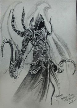 Malthael from Diablo! by maritorrecilha