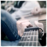 Bro's Guitar Playing by countstex