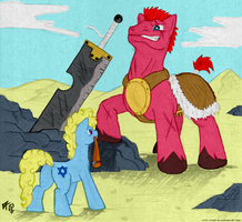 From Shepherd to King with a single Stone by Cynos-Zilla