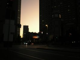 Friday: Sunset in Pittsburgh by steward