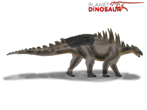 Planet Dinosaur- Polacanthus by Vespisaurus