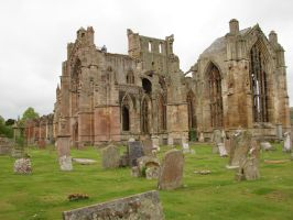 STOCK-MELROSE ABBEY by IRAtheIV