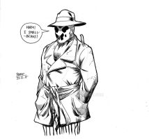 Rorschach says....Hurrm! by Alf-Alpha