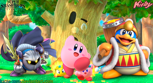 Kirby Super Smash Bros. Ultimate Wallpaper by Lucas-Zero