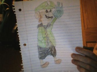 Luigi and Sans Fusion by TheLuigiLord