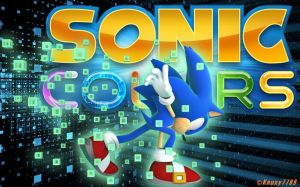 Sonic Colors - Sonic - Desktop Wallpaper by Knuxy7789
