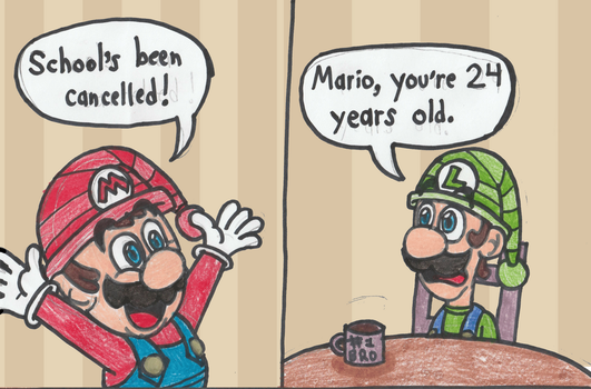 What I wouldn't give to be young again... (sigh) by DrQuack64