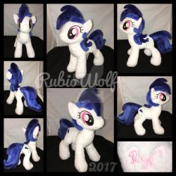 MLP 10 inch OC 'Sapphire Rose' ::Commission:: by RubioWolf