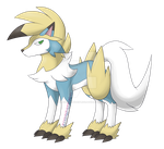 [CLOSED] Manetric/Lycanroc Adoptable by EyesoreForTheBlind