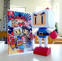 Super Bomberman S - Printed! by MarkProductions