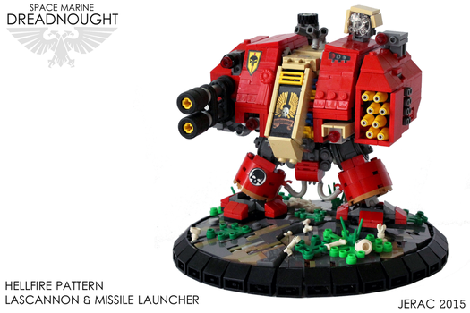 WH40k Dreadnought by Scharnvirk