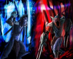 Zed and Shen by Huntermanx