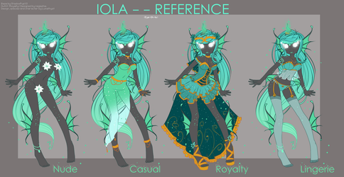 Iola Reference sheet by Lunathyst