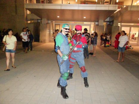 Animazement '12 - The (BOSS) Mario Bros. by koldtrane