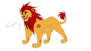 Lion Guard - Adult Kion by Wolf-Chalk