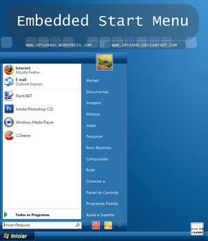 Embedded Start Menu by XPYahhh