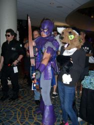 Annu and Hawkeye by AnnutheCatGirl