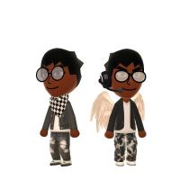 Zirkit and Zanye(New Accessories and Clothes)  by SlyZeke101