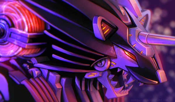 Energy Liger by AuroraLion
