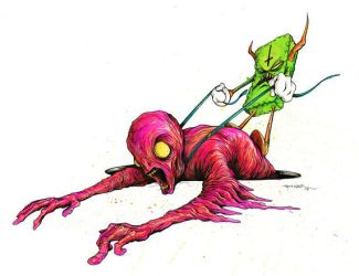 Chud Surfing 2 by alexpardee
