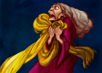 Mother Gothel by Yuett