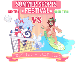 Chimereons: SUMMER SPORTS FEST! (CLOSED) by HoshPosh