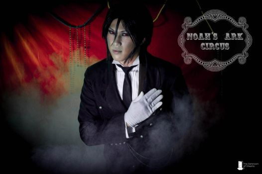 Black Butler: Noah's Ark Circus: Sebastian by TheDarkroomOfDreams