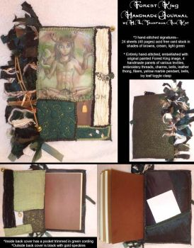 Forest King Handmade Journal by The-IceKat
