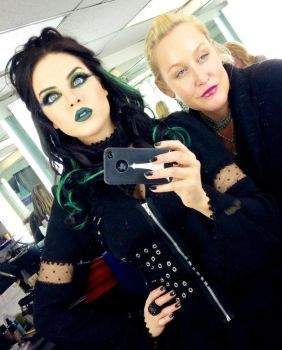 Liz Gillies Brainwashed Goth Girl by hypnospects