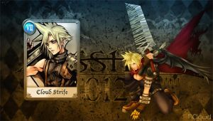 Dissidia 012 Cloud 2 by NaughtyBoy83