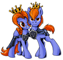 Behold of the royal Couple by SonicPegasus